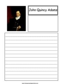 John Quincy Adams Notebooking
