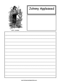 Johnny Appleseed Notebooking
