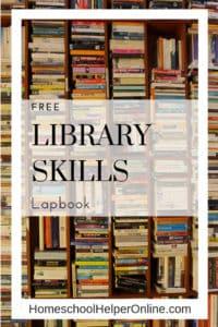 Library Skills Lapbook