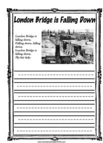 London Bridge Copy Work
