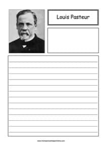 Louis Pasteur Notebooking