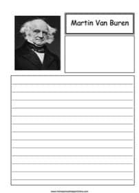 Martin Van Buren Notebooking