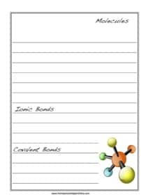 Molecules Notebooking Page