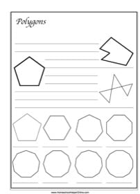 Polygons ~ Geometry Notebooking Page