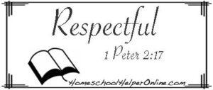 Respectful Character Study