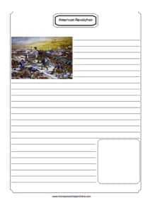 Boston Tea Party Notebooking Page