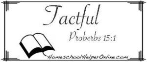 Tactful Character Study