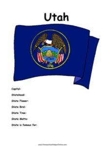 Utah Worksheet