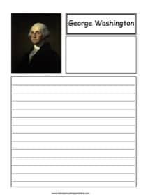 George Washington Notebooking