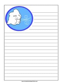 Wind Notebooking Page