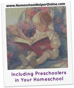 Including Preschoolers in Your Homeschool