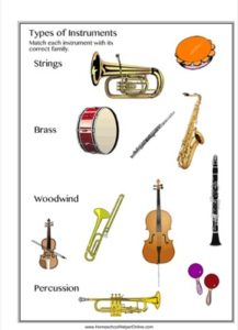 Instruments Of The Orchestra Worksheet Worksheets for all ...