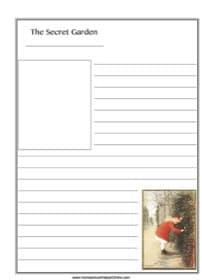 The Secret Garden ~ Literature Notebooking Page