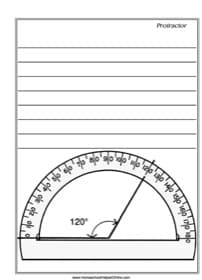 Protractor Notebooking Page