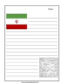 Iran Notebooking Page