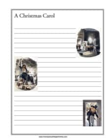 A Christmas Carol Notebooking Page