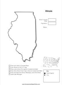 Illinois Geography Worksheet