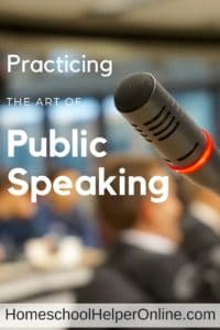 Practicing the Art of Public Speaking