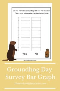 Groundhog Day Shadow Bar Graph