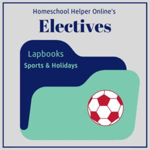 Sports and holiday lapbooks