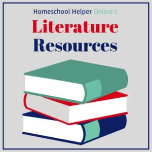 Literature based resources to enrich the study of a classic book