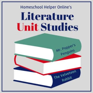 Literature based unit studies from classic picture books to chapter books