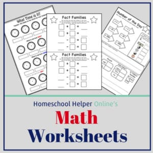 Use these worksheets to help your student learn their math skills
