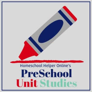 Unit studies for the pre-schoolers in your homeschool