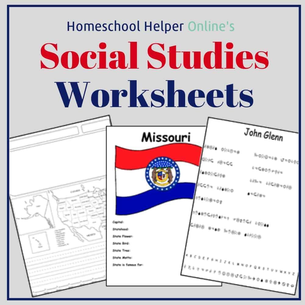 - Social-Studies Worksheets - Homeschool Helper Online