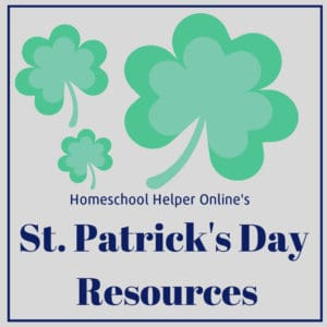 Learn the real history of St. Patrick's Day using these homeschool resources