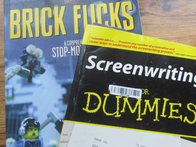 These are the two books we used in our film making class