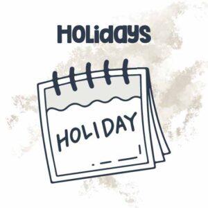 Homeschool Helper Online's Holiday Resources