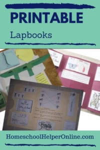 free lapbooks in all subjects