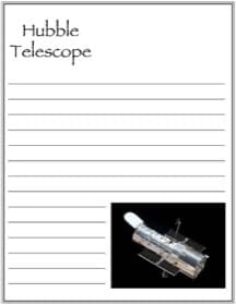 Hubble Space Telescope Notebooking