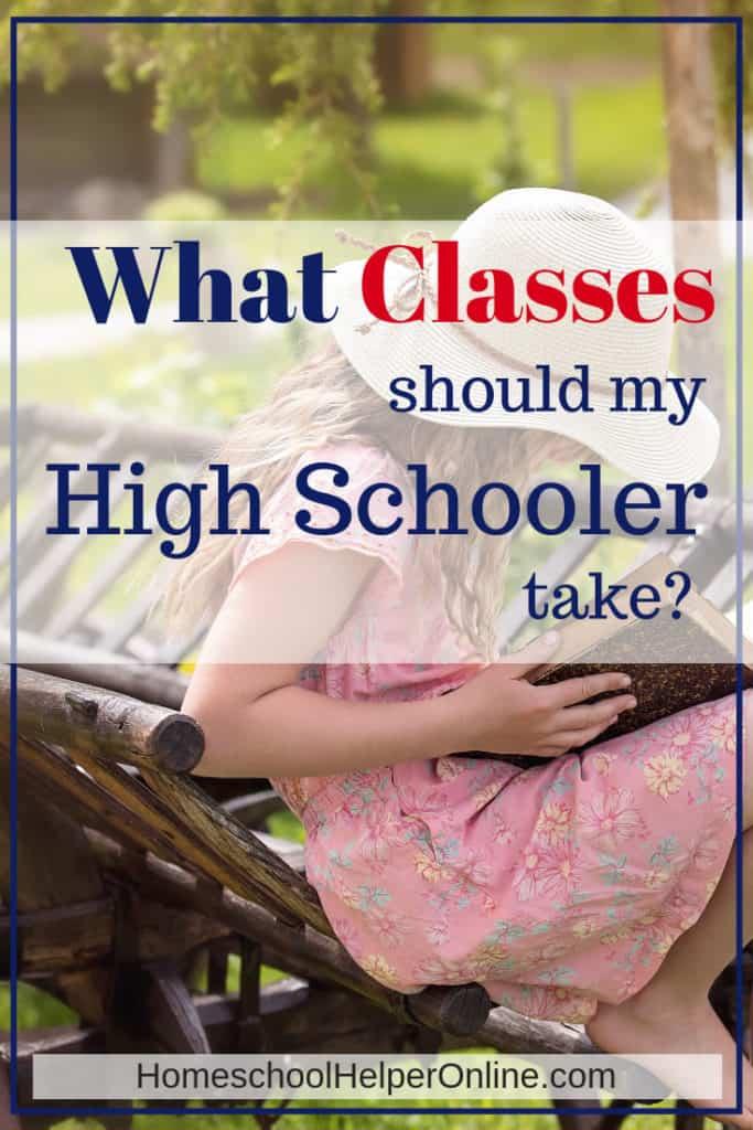 Class choices for high school