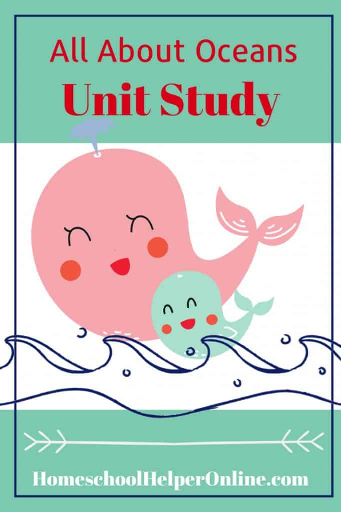 All About Oceans Unit Study