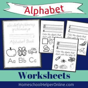 Beginning Sounds Alphabet Worksheets
