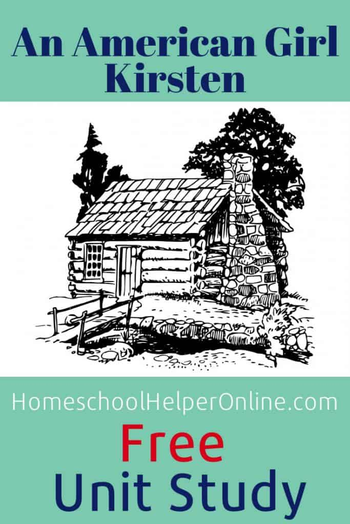 Free unit study about a Swedish pioneer immigrant girl