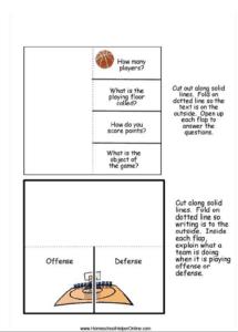 Basketball Printable
