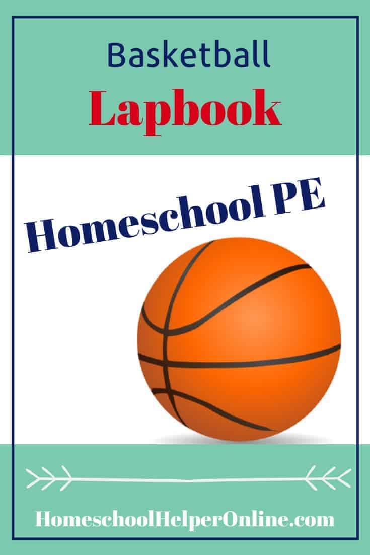 Free printable basketball lapbook