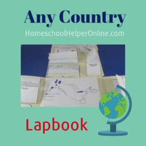 Study Any Country Lapbook