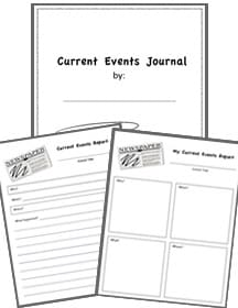photo relating to Current Events Worksheet Printable identified as Social-Scientific studies Worksheets - Homeschool Helper On line