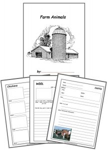 Farm Animals Notebooking Bundle