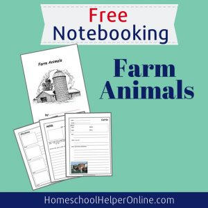 Farm Animals Notebooking Pack
