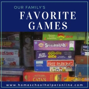 Our family's favorite board games