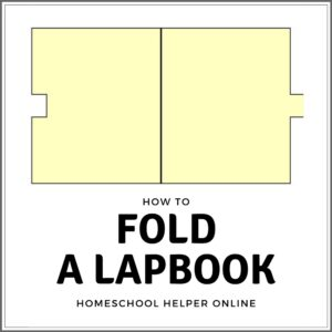 How to fold a lapbook