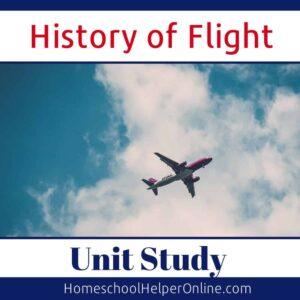 History of Flight Unit Study