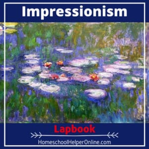 Impressionism Lapbook