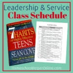 High School Class Schedule