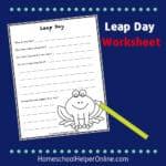 leap day worksheet